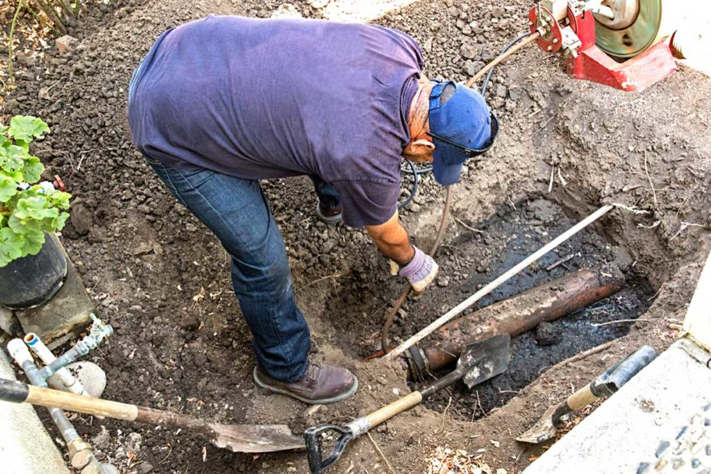 Sewer Line Replacement - Metro Septic Tank Installation & Repair Group of Cypress